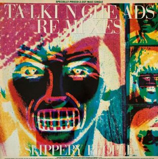 "Talking Heads ‎- Slippery People/Making Flippy Floppy (12"") (EX-/VG)"